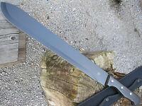 Grosse schwere Outdoor MACHETE BW Messer BUSCHMESSER AXT Beil  Angeln Jagd