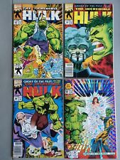 The Incredible Hulk #397-400 *Complete Ghost of the Past Story Line* NICE BOOKS!