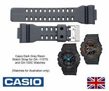 Genuine Casio Watch Strap Band for GA-110TS-1 & GA-100C-8 - Dark Grey - 10455781