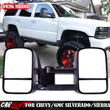 Towing Mirrors Chevy GMC Exterior Accessories Mirrors for 99-07 Chevy/GMC