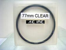 77mm Clear Optical Flat Tiffen Glass Round Filter Schneider Filters