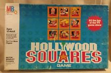 """Hollywood Squares"" Game by Milton Bradley Toys Complete 1986"