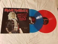 Iron Maiden - Newcastle Nightmare 1980 (Rec & Blue Vinyl) - Top Condition!