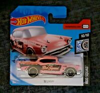 MATTEL Hot Wheels    '57 CHEVY Pink   Brand New Sealed Boxed