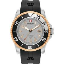 SWISS MILITARY HANOVA MEN'S TRITON 47MM BLACK AUTOMATIC WATCH 05-4284.15.009