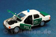 Ford Sierra, Stufenheck, Polizei, M 1:43 Schabak 1080 Originalverpackung!