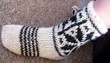 100% Schafwollsocken Wollsocken handgestrickte Wintersocken Socken Wolle