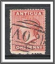 Antigua #3 Queen Victoria Used
