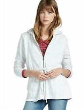 Lucky Brand - Womens L - $119 -  Nep Terry Sherpa Lined Hoodie Sweatshirt Jacket
