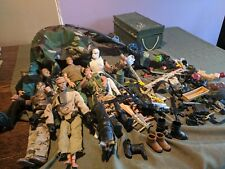 Large Lot 1990's 12in. Gi Joe's and Accessories