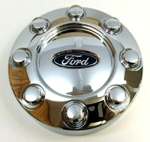 Ford F-250 F-350 F-450 F-550 Super Duty chrome Center Wheel Cover Hub Cap OEM