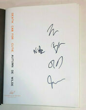 Death Cab for Cutie REAL SIGNED Autumn de Wilde hardcover photo book All 5 COA