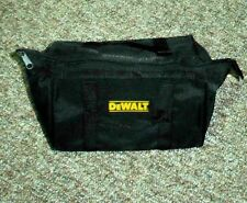 DeWALT BLACK NYLON TOOL BAG FROM 18 VOLT DC970K-2 KIT 9-1/2 X 11-1/2 X 7 IN APPR