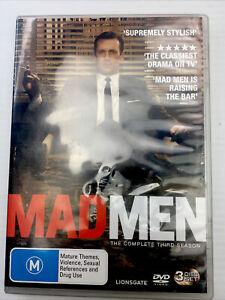 Mad Men COMPLETE SEASON 3 - DVD SET R4 PAL M