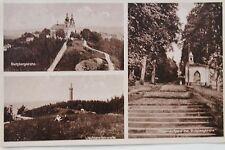 11770 AK Jägerndorf Sudeten Burgbergkirche 1942