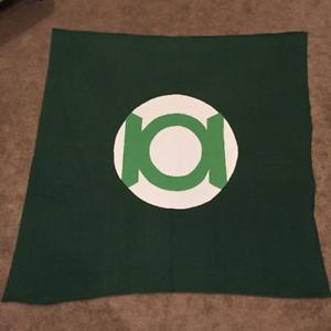Green Lantern, Green Lantern Blanket, Superhero, Superhero Blanket, Fleece Blank