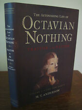 1st/1st Printing OCTAVIAN NOTHING M.T. Anderson NATIONAL BOOK AWARD V1 POX PARTY