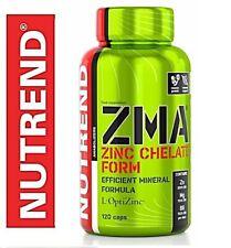 Nutrend ZMA 120 CAPULES Best Unique Mixture Zinc Magensium B6 New Formula !