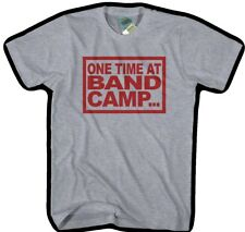 American Pie One Time in Band Camp Inspired Men's T-shirt X Large Heather Grey