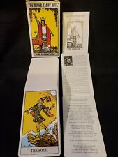 Vintage Original The Rider Waite Tarot Deck 1971 Switzerland Complete Rare