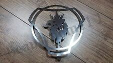 1 pcs.SCANIA  FRONT LOGO DASHBOARD MADE OF MIRROR POLISHED STAINLESS STEEL
