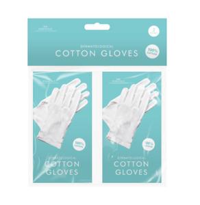 White Cotton Gloves Moisturising Eczema Butler Beauty Waiters Magician Halloween