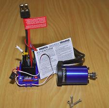 Traxxas Velineon VXL Brushless WP VXL-3S ESC 3500 Motor TRA3350R 4 Pole/Stampede