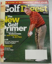 Golf Digest Magazine Jack Nicklaus & Jim Flick March 2005 052615R