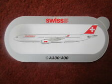 AUTOCOLLANT STICKER AUFKLEBER AIRBUS A330-300 SWISS AIR AIRLINE SWISSAIR