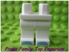 New LEGO Minifig LEGS White Blue Toes Series 13 Unicorn Girl Body Part