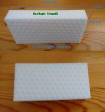6 Extra High Density Large Size 130x65x25mm Xtra Magic Eraser Sponge by TrisunUK