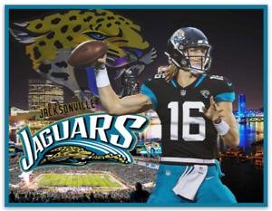 Trevor Lawrence Jacksonville Jaguars #1 Draft Pick Stadium-City Scenery MAGNET