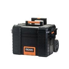 Storage Tool Box Rolling Portable Organizer Cart Resin Black 22 in. RIDGID