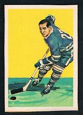 1961 F. Mahovlich Maple Leafs Hockey Wheaties Cereal Box Premium Hand Cut Card