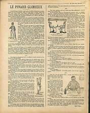 ARTICLE COMPLET René Thiell Pinard Glorieux Vin Poilus Grognards France 1917 WWI