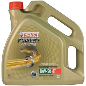 Castrol Power 1 Racing 4T 10W-50 - 4 Liter