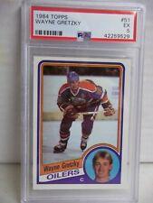 1984 Topps Wayne Gretzky PSA EX 5 Hockey Card #51 NHL HOF