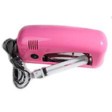 110V-220V 9W Gel Curing Nail Art UV Lamp Dryer Light Gel Nail Polish Bulb Set