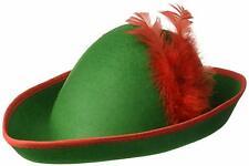 Elf Hat Green Felt Costume accessory for Halloween Christmas Santa's Helper