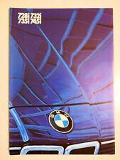 Prospekt BMW 7er E 23 728i, 732i, 735i, 745i - 1.1983, 6 Seiten, folder