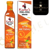 Personalised Nandos Peri Peri Sauce bottle label any name / occasion