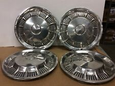 OEM SET OF 4 1962 1963 Ford Falcon Fairlane 13 inch hubcap wheel cover 1964 FORD