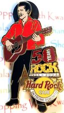 Hard Rock Cafe Toronto Skydome Elvis Presley 50 Years of Rock 2004 Pin LE New