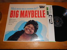 Big Maybelle 50s 60s R&B SOUL CANDY LP What More Can a Woman Do MONO USA ISSUE