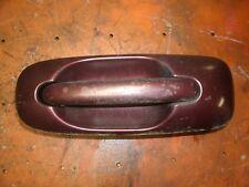 01-07 Dodge Caravan Passenger Right Rear Exterior Sliding Door Handle Purple OEM