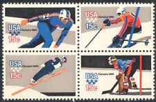 SC#1798b - 15c Winter Olympics Block of 4 MNH