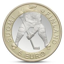 FINLAND FINNLAND FINLANDE 5 EURO IIHF ICE HOCKEY WORLD CHAMPIONSHIP 2012 UNC