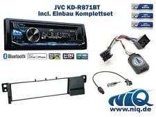 BMW X3 E83 ohne Werkseitiger Navi JVC ... Autoradio Einbauset *Schwarz* inkl