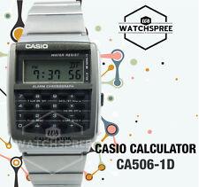 Casio Calculator Watch CA506-1D