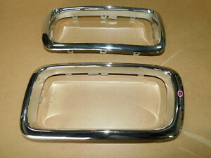 BMW E38 735i 740i 750i LEFT + RIGHT Kidney Grill Inserts Parts 8125815, 8125816